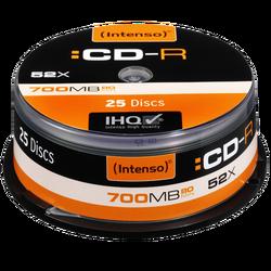 CD-R 700MB (80 min.) pak. 25 komada Cake Box