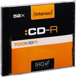 CD-R 700MB (80 min.) pak. 1 komad Slim Case