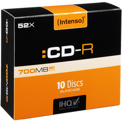 CD-R 700MB (80 min.) pak. 10 komada Slim Case