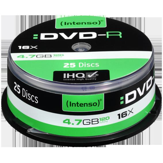 (Intenso) - DVD-R4,7GB/25Cake