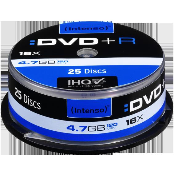 (Intenso) - DVD+R4,7GB/25Cake