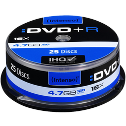 DVD+R 4,7GB pak. 25 komada Cake Box
