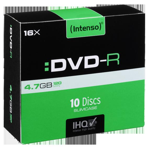 (Intenso) - DVD-R4,7GB/10Slim
