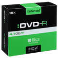 (Intenso) - DVD-R4,7GB/10Slim