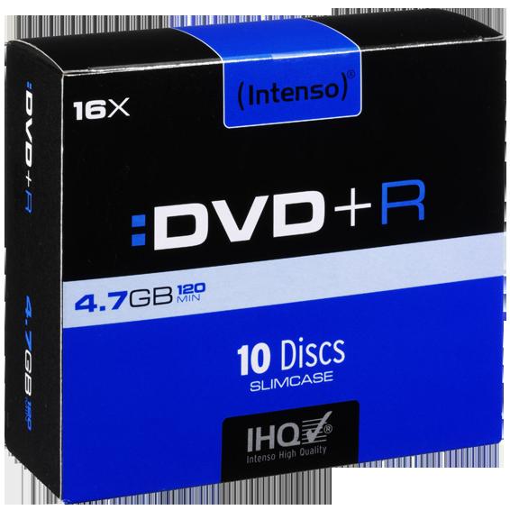(Intenso) - DVD+R4,7GB/10Slim