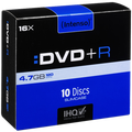 (Intenso) - DVD+R4,7GB/10Slim