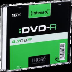 DVD-R 4,7GB pak. 1 komad Slim Case