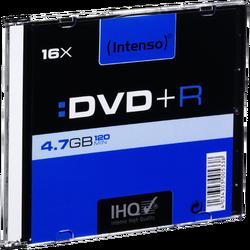 DVD+R 4,7GB pak. 1 komad Slim Case