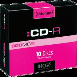 CD-R 800MB (90 min.) pak. 10 komada Slim Case