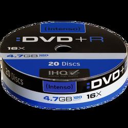 DVD+R 4,7GB pak. 20 komada Spindle