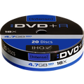 (Intenso) - DVD+R SHRINK 4,7GB/20Spindle