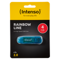 (Intenso) - USB2.0-4GB/Rainbow