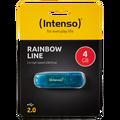 (Intenso) - USB2.0-4GB/Rainbow