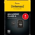 (Intenso) - SDHCmicro+ad-4GB/Class4