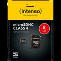 (Intenso) - SDHCmicro+ad-8GB/Class4