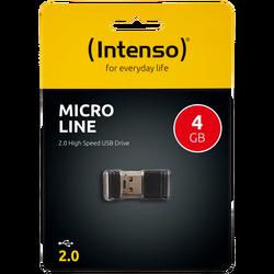 USB Flash drive 4GB Hi-Speed USB 2.0, Micro Line