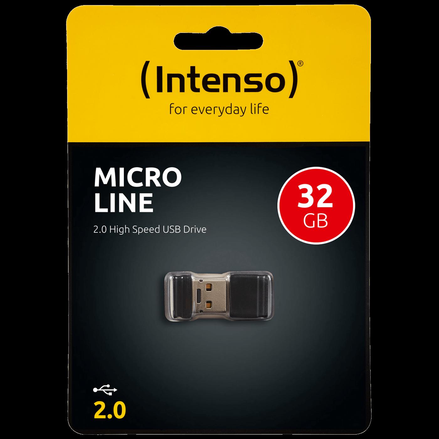 USB Flash drive 32GB Hi-Speed USB 2.0, Micro Line