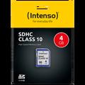 (Intenso) - SDHC-4GB/Class10