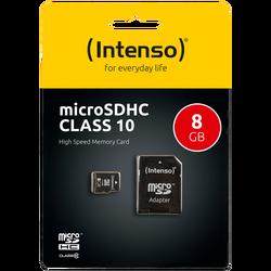 Micro SD Kartica 8GB Class 10 (SDHC & SDXC) sa adapterom