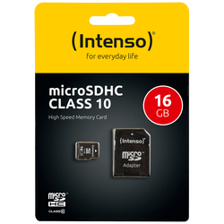 Micro SD Kartica 16GB Class 10 (SDHC & SDXC) sa adapterom