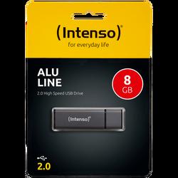 (Intenso) - USB2.0-8GB/Alu-a