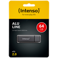 (Intenso) - USB2.0-64GB/Alu-a