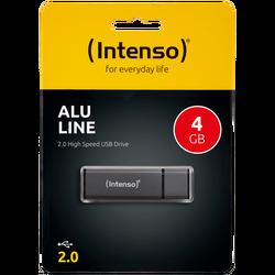 USB Flash drive 4GB Hi-Speed USB 2.0, ALU Line