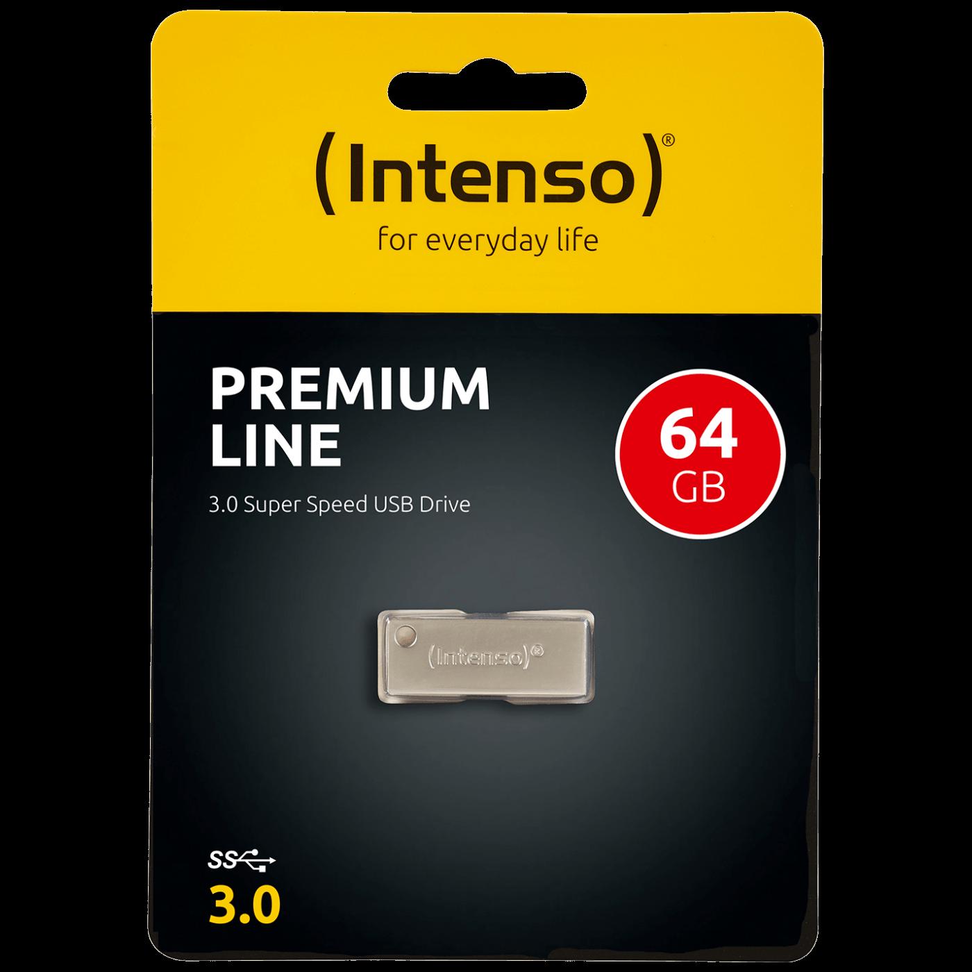 USB Flash 64GB Hi-Speed USB 3.0 up to 100MB/s, Premium Line
