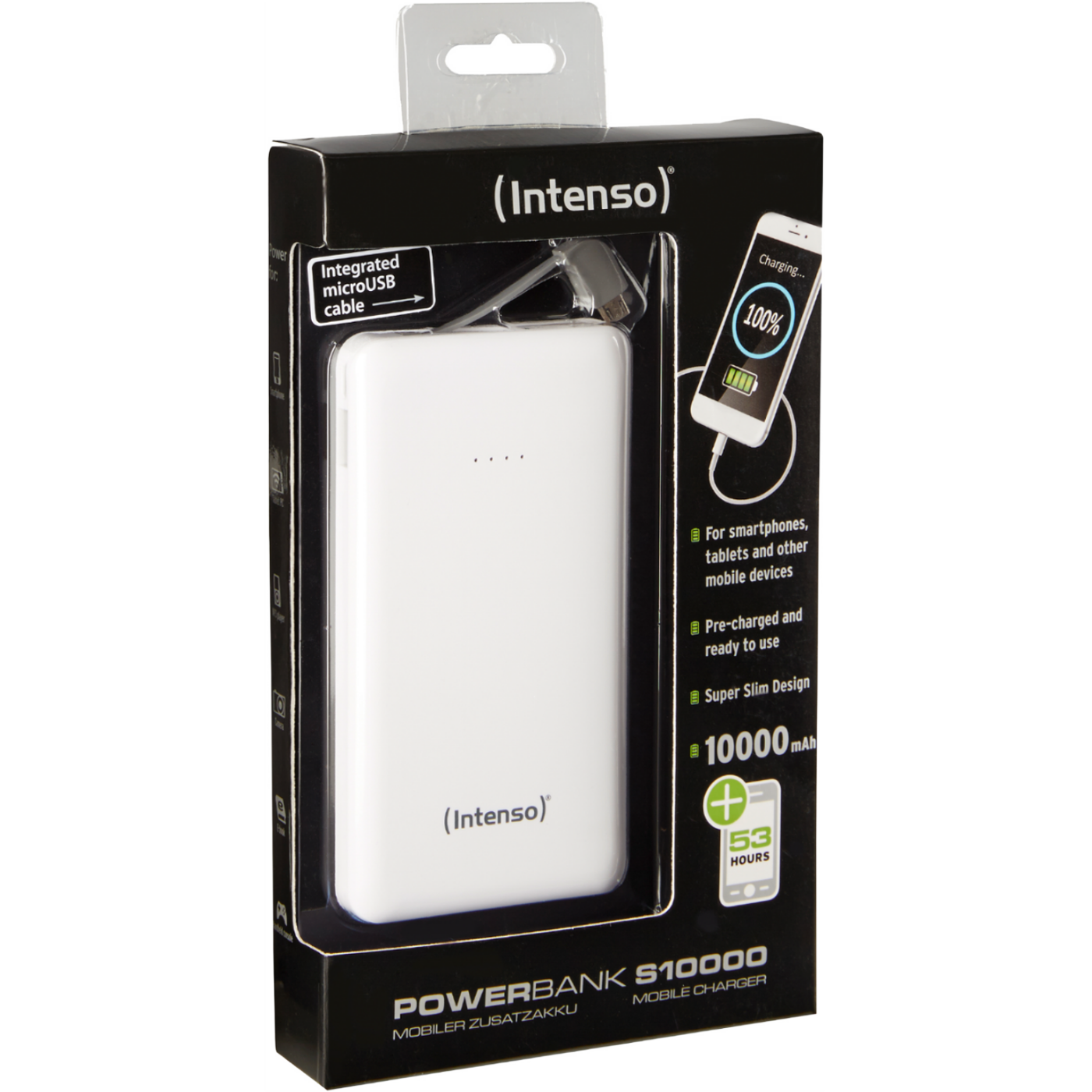 POWERBANK slim 10000 White