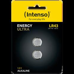 Baterija alkalna LR43/2, 1,5 V dugmasta, blister 2 kom