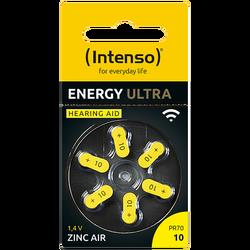 Baterija za slušni aparat, A10/PR70, 1.45 V, pakiranje 6 kom