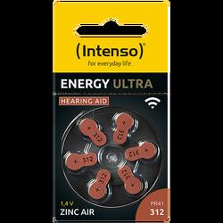 Baterija za slušni aparat, A312/PR41,1.45 V, pakiranje 6 kom