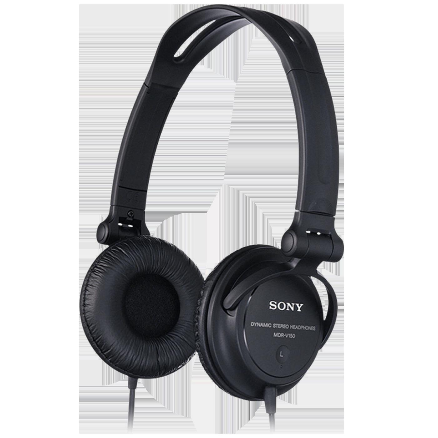Slušalice, stereo, naglavne, crna