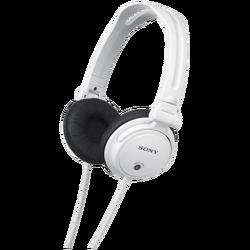 Slušalice, stereo, naglavne, bijela