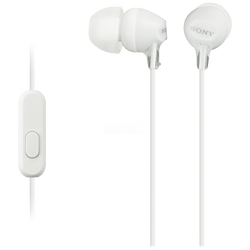 Slušalice, stereo, 3.5 mm, bijela