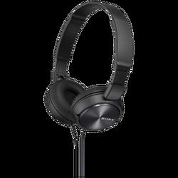 Slušalice, stereo, sklopive, crne