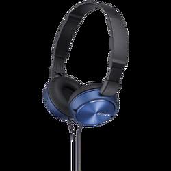 Slušalice, stereo, sklopive, plave