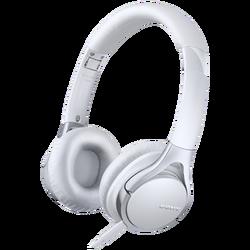 Slušalice, stero, naglavne, bijele
