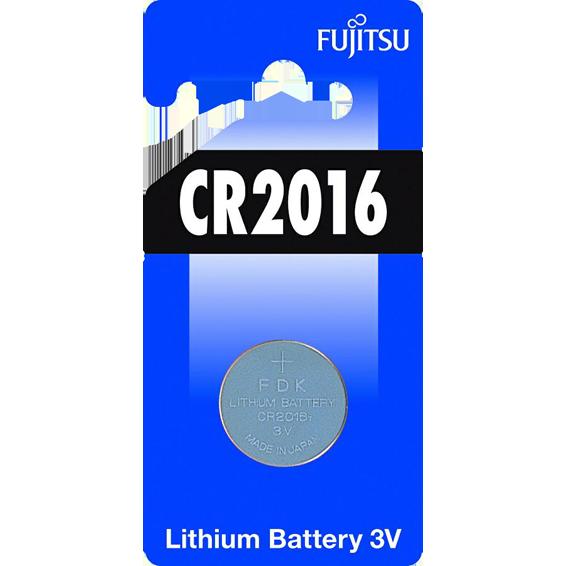 Baterija litijska, CR2016, 3V, dugmasta, blister 1 kom