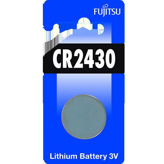 Baterija litijska CR2430, 3V dugmasta, blister pak. 1 kom
