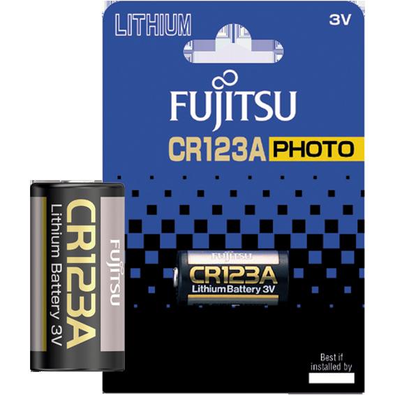 Baterija litijska CR123A, 3V, blister pak. 1 kom