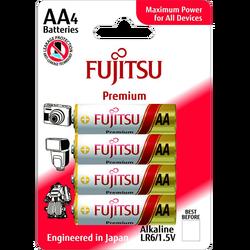 Baterija alkalna AA/LR06, Premium, 1.5V, blister pak. 4 kom