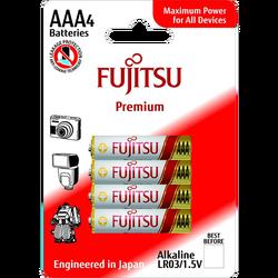 Baterija alkalna AAA/LR03, Premium, 1.5V, blister pak. 4 kom
