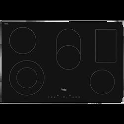 Staklokeramička ploča za kuhanje, 80 cm, 6800W