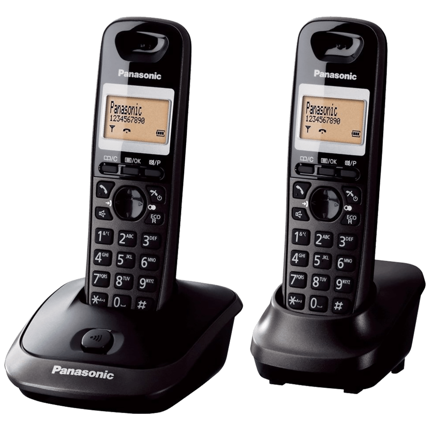 Telefon, bežični, sa dvije slušalice, 1,4