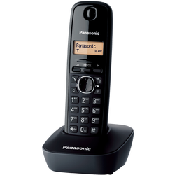Telefon bežični, LED display, crna boja