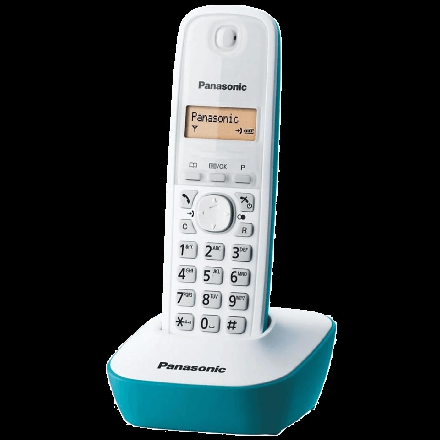 Telefon bežični, LED display, bijelo/plavi
