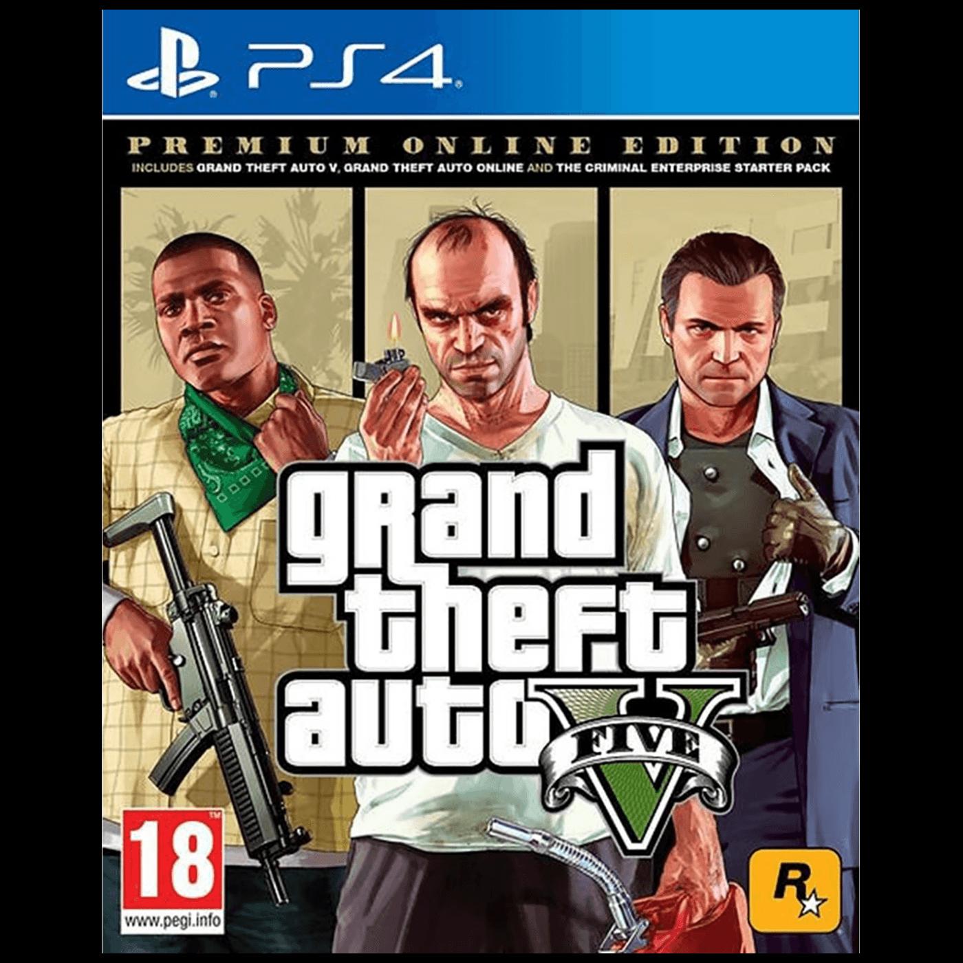 Igra PlayStation 4: GTA V Premium Edition
