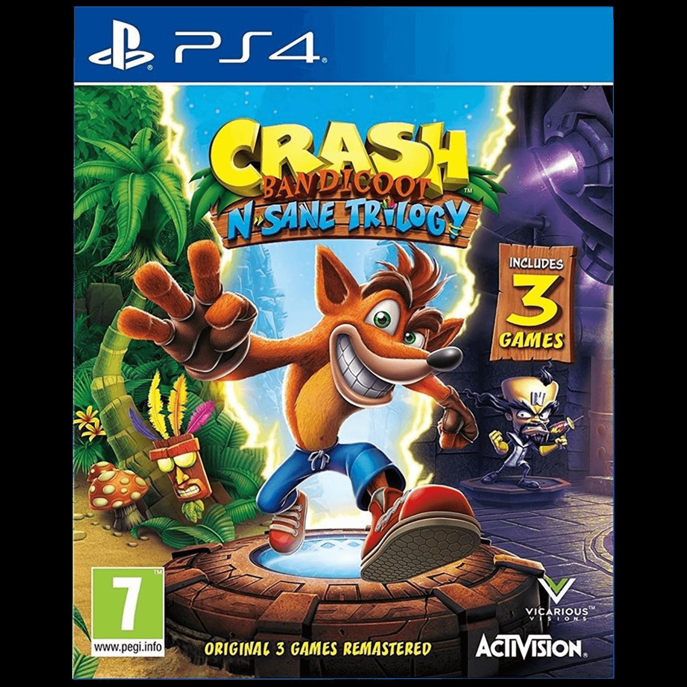 Igra PlayStation 4: Crash Bandicoot N. Sane Trilogy 2.0