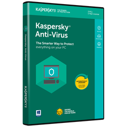 Kaspersky Anti-Virus 2018, 3 PC-a / 1 godina
